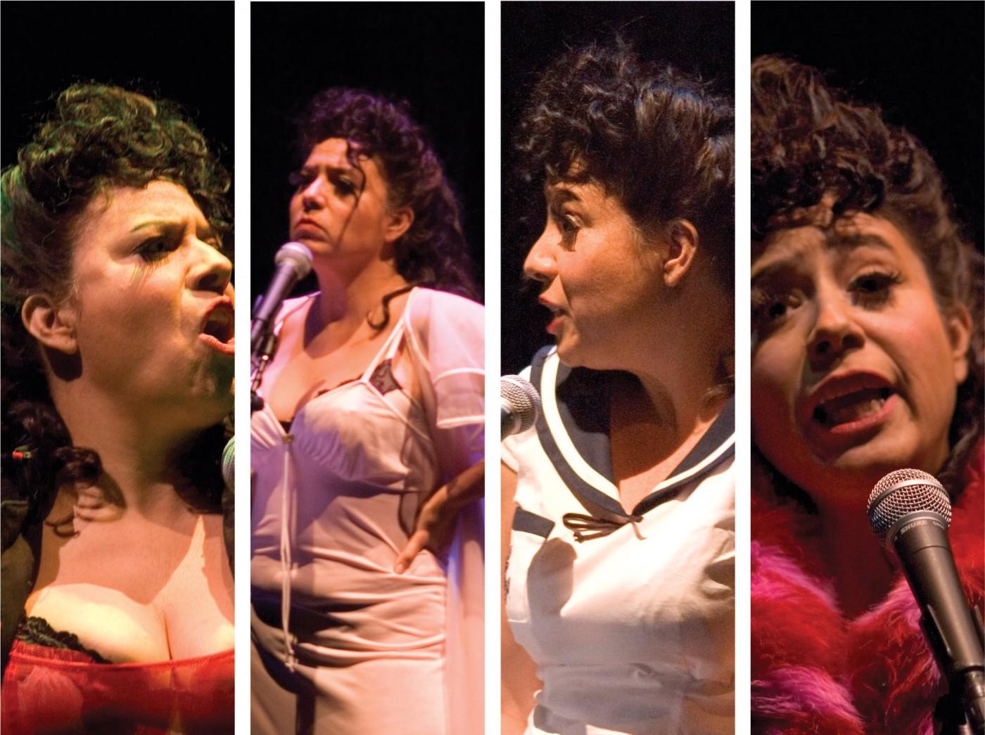 Foto-performance: La Pin-up Girl