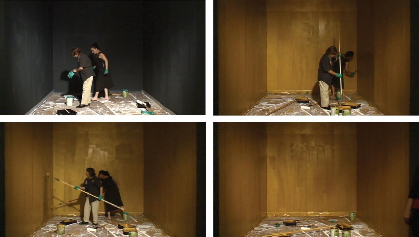 Instalación performativa: La Era de Oro 2008