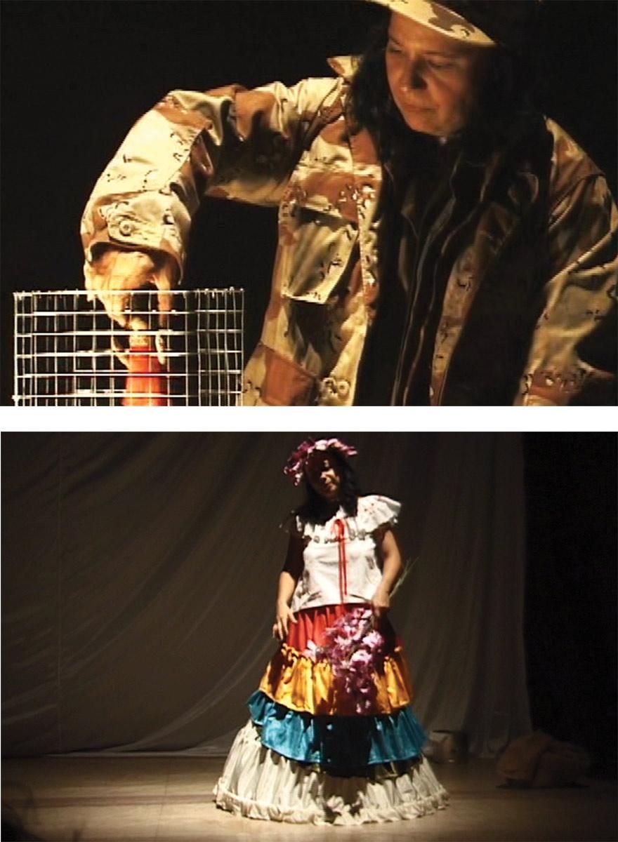 Performance: Primera Mujer en la luna 2004